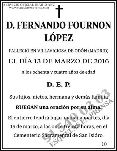 Fernando Fournon López